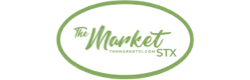 A theme logo of The Market St. Croix