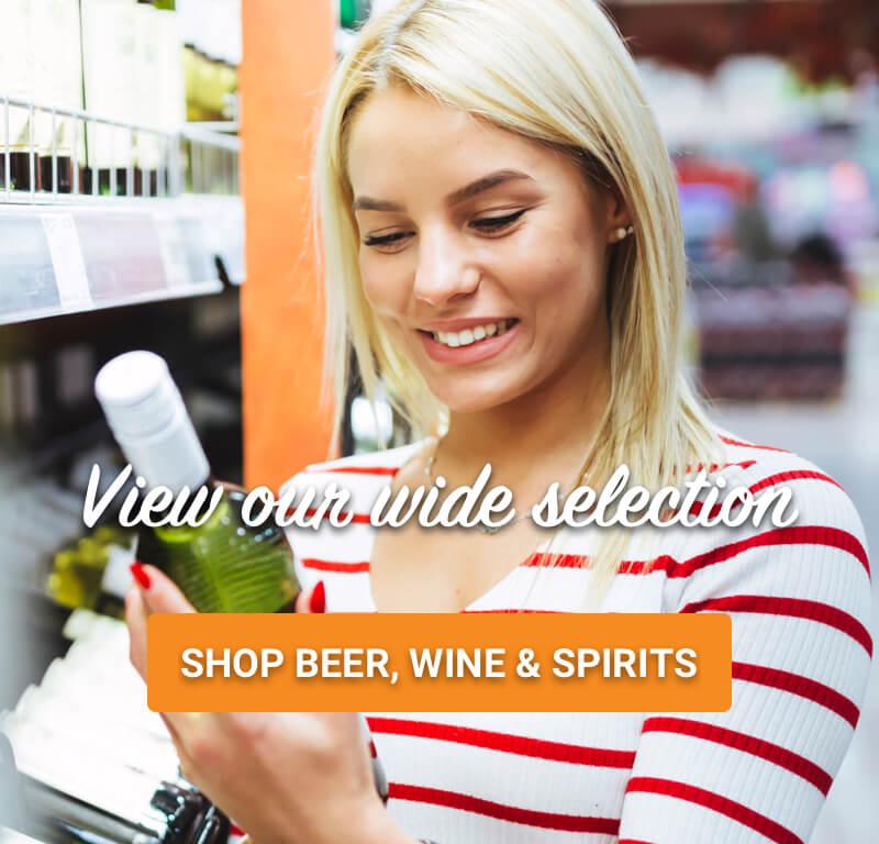 Shop Beer, Wine & Spirits